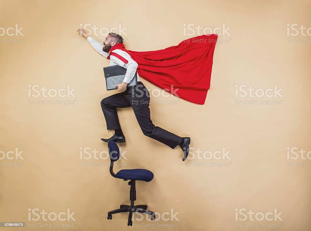 Super manager stock photo