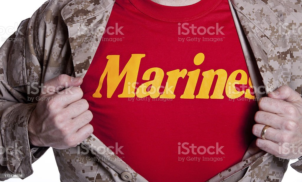 Super Marine royalty-free stock photo