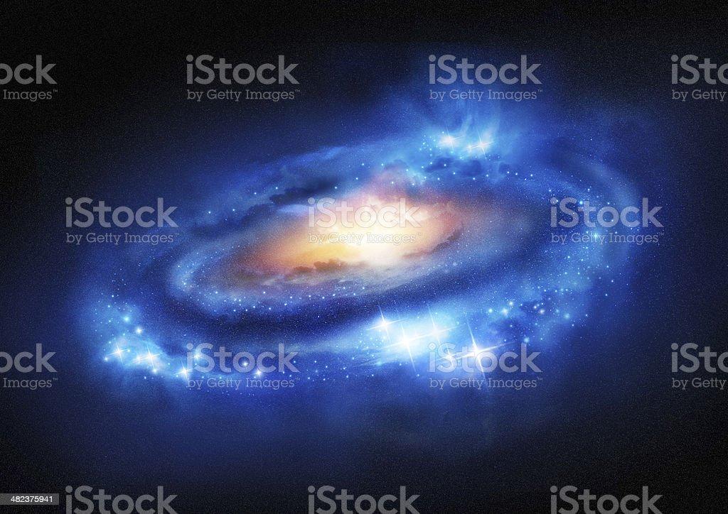Super Massive Galaxy stock photo