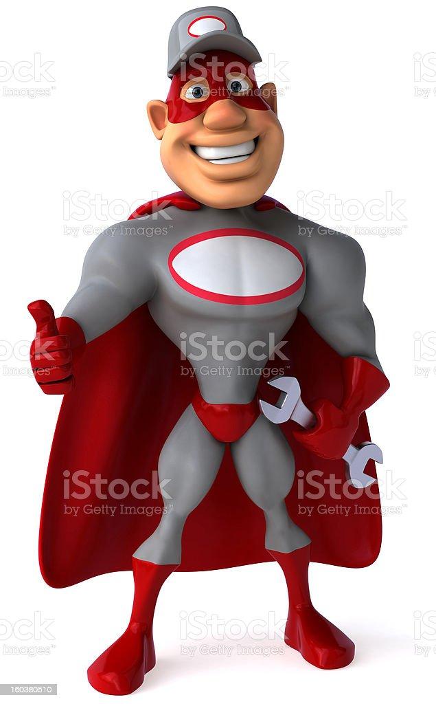 Super mechanic royalty-free stock photo