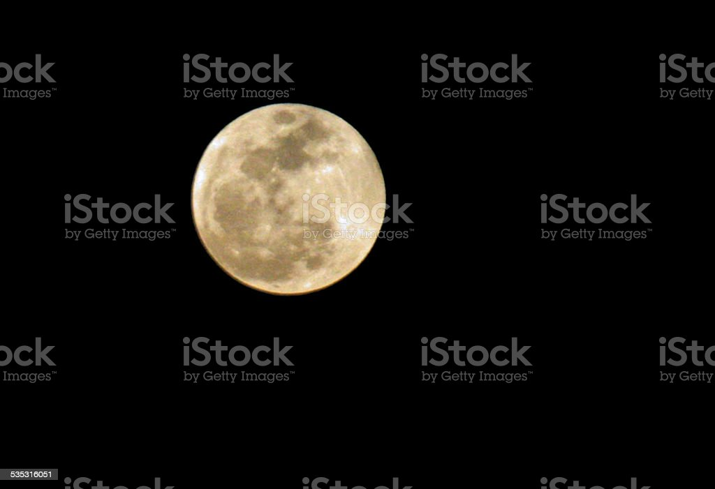 Super Moon Aprin, 5, 2012 stock photo