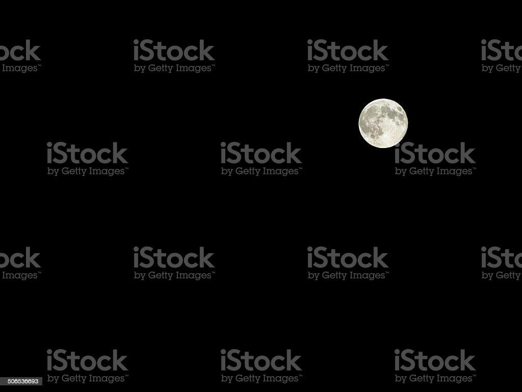 Super moon full moon stock photo