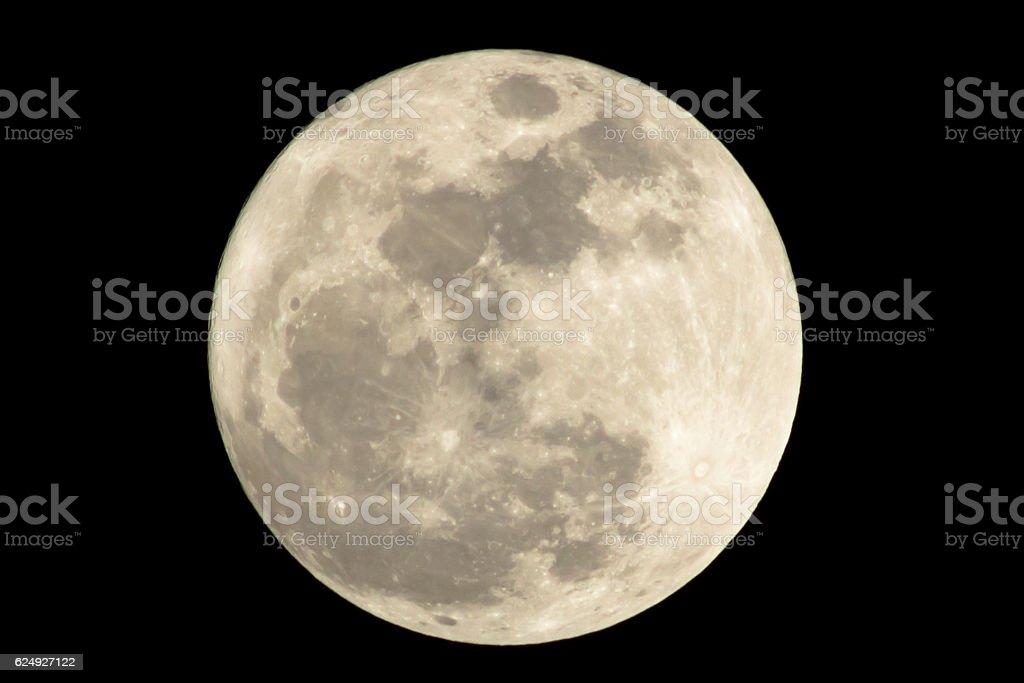 Super Moon stock photo