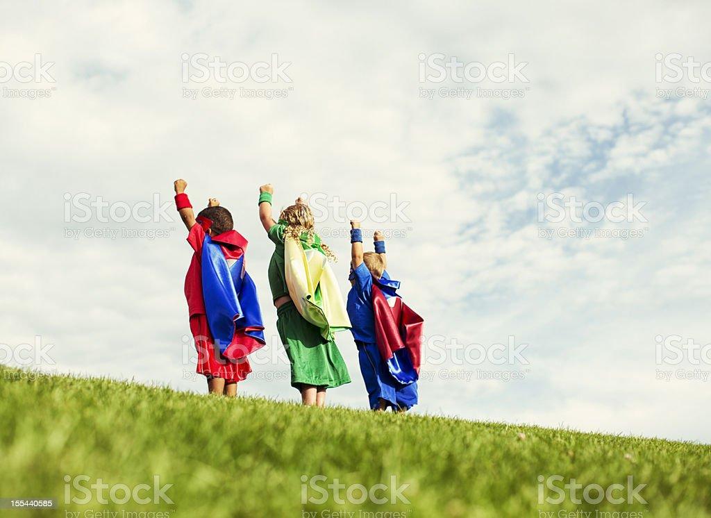 Super Power royalty-free stock photo
