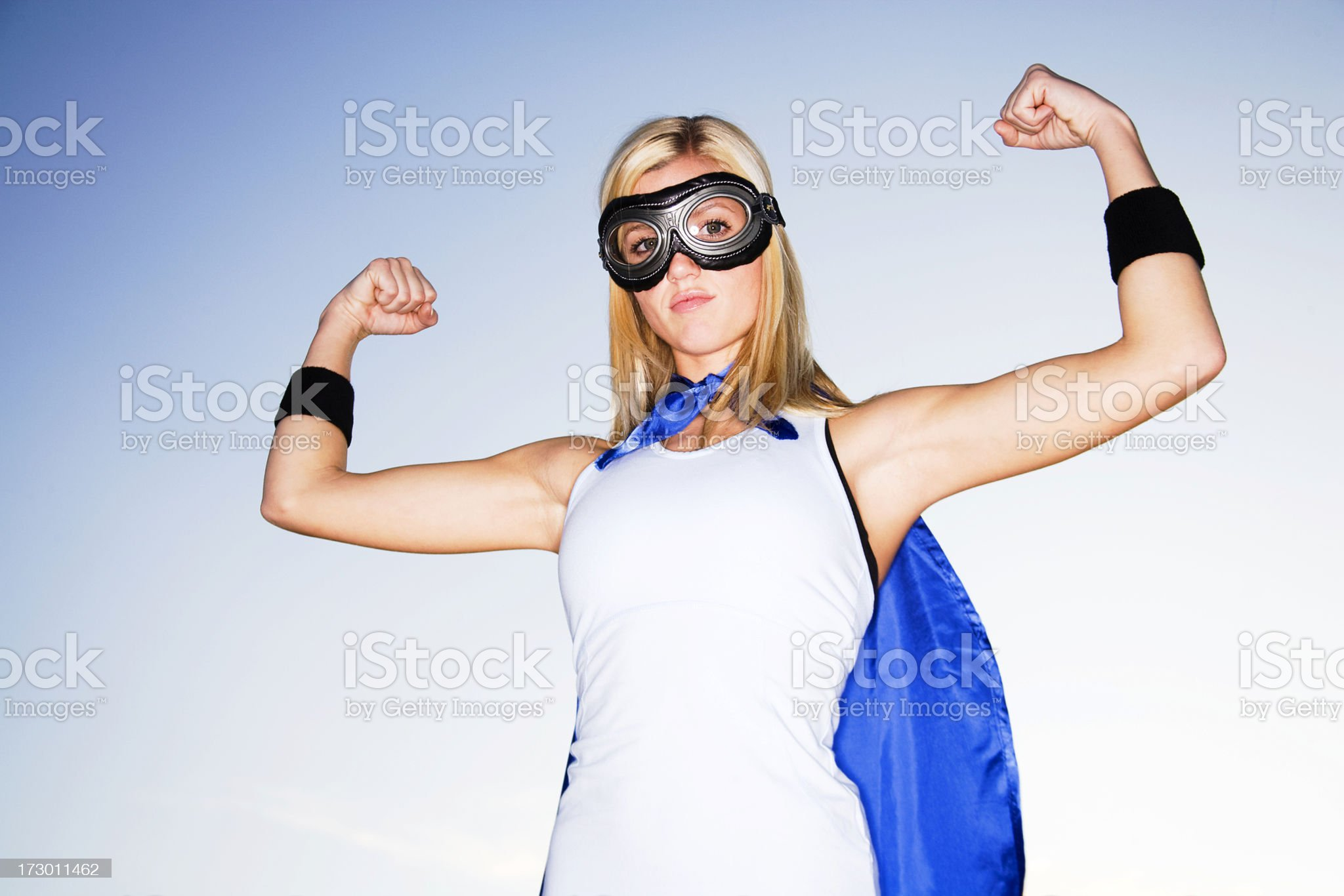 Super Power royalty-free stock photo