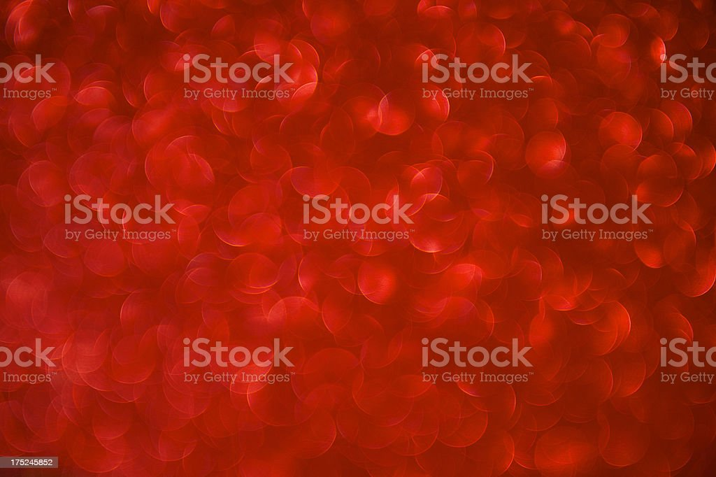Super Saturated Vibrant Red Defocus Background Horizontal royalty-free stock photo