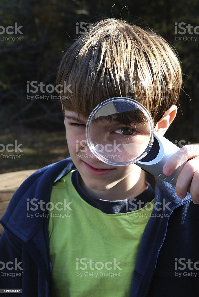 Super sleuth. royalty-free stock photo
