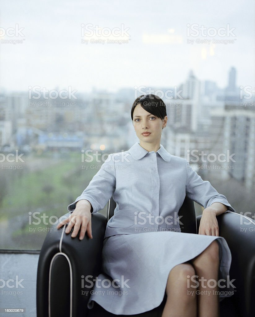 Super Slick Modern Businesswoman royalty-free stock photo