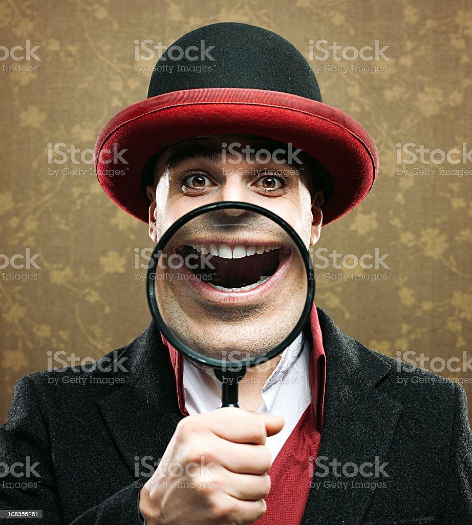 Super smile royalty-free stock photo