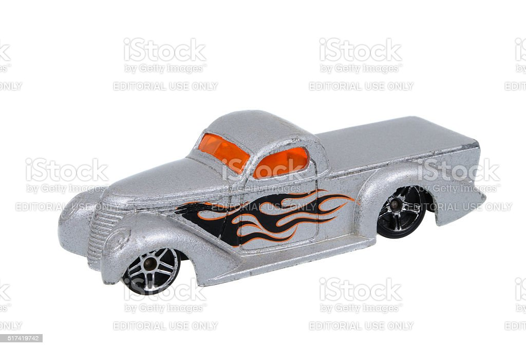 2001 Super Smooth Hot Wheels Toy Car stock photo