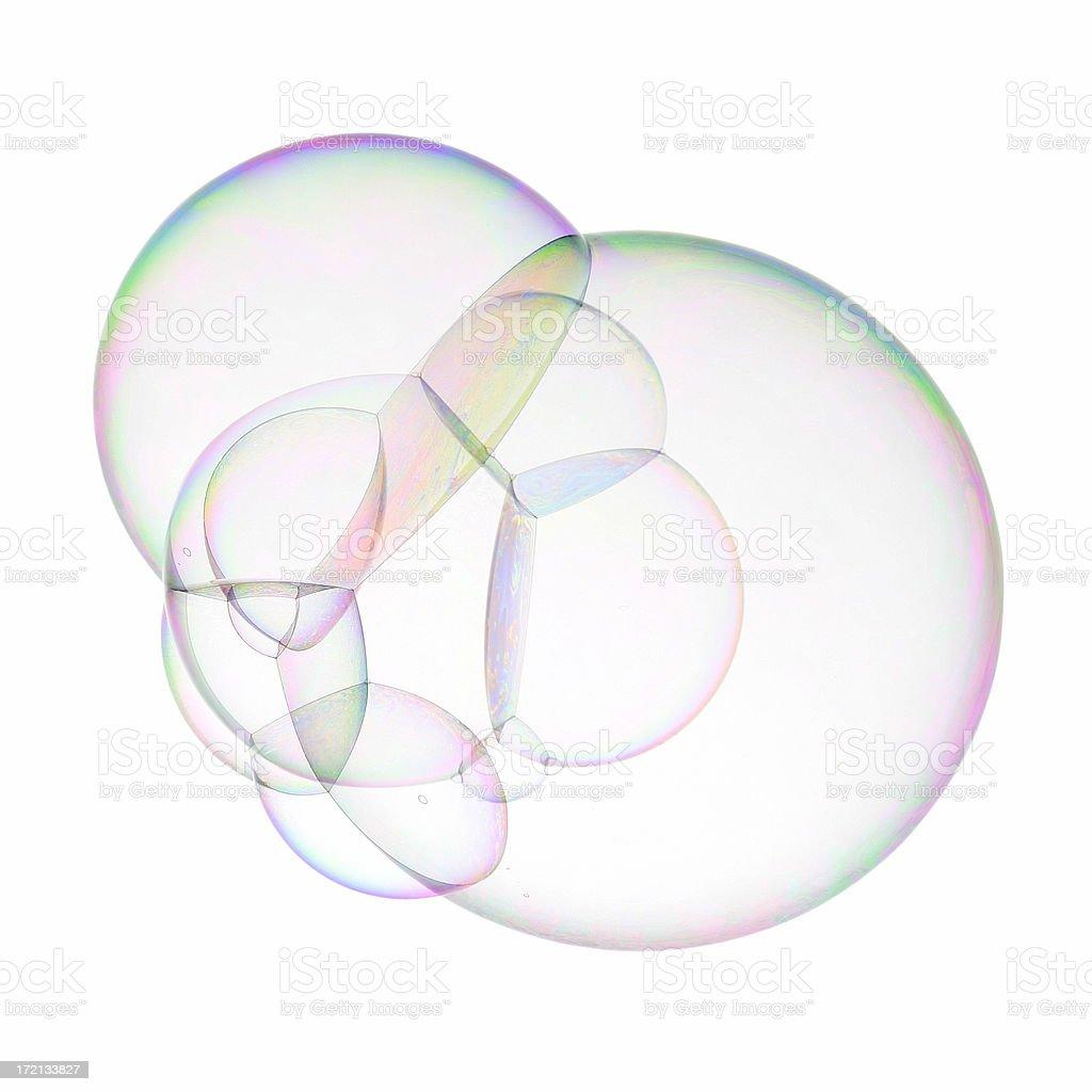 Super soap bubble stock photo