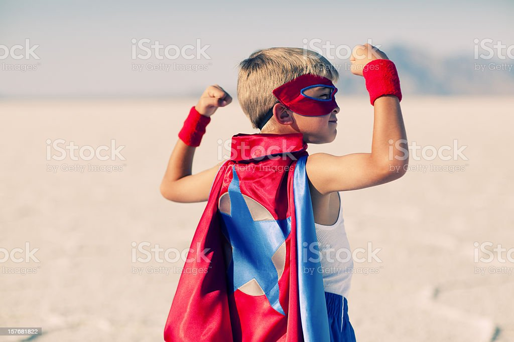 Super Strength royalty-free stock photo