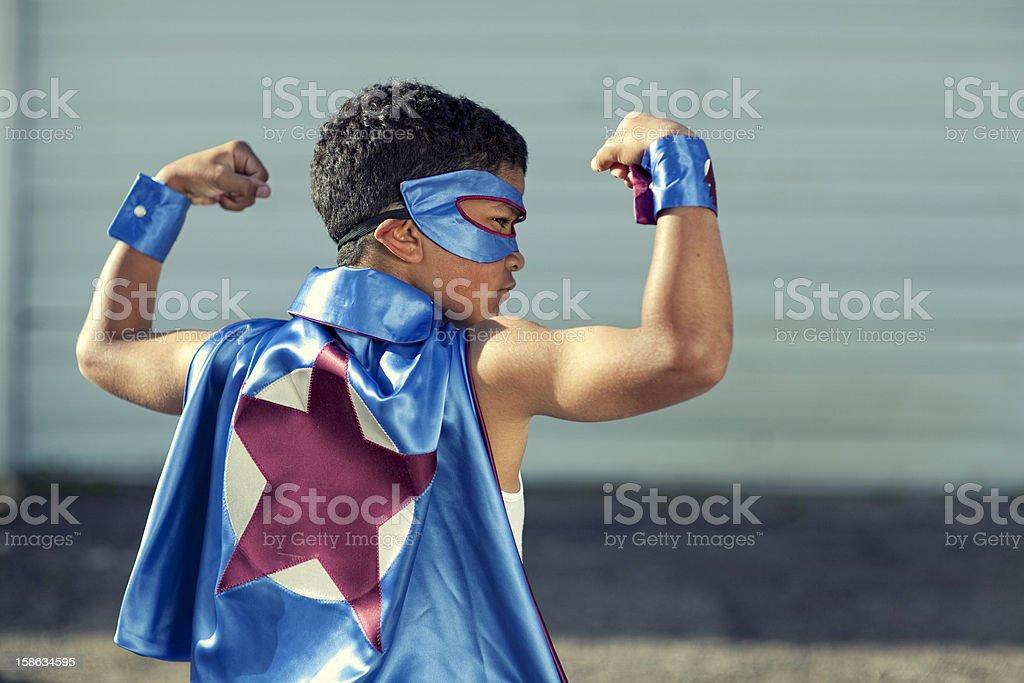 Super Strength royalty-free stock photo