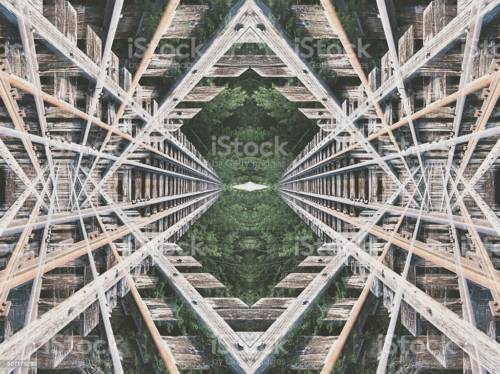 Super Symmetricity stock photo