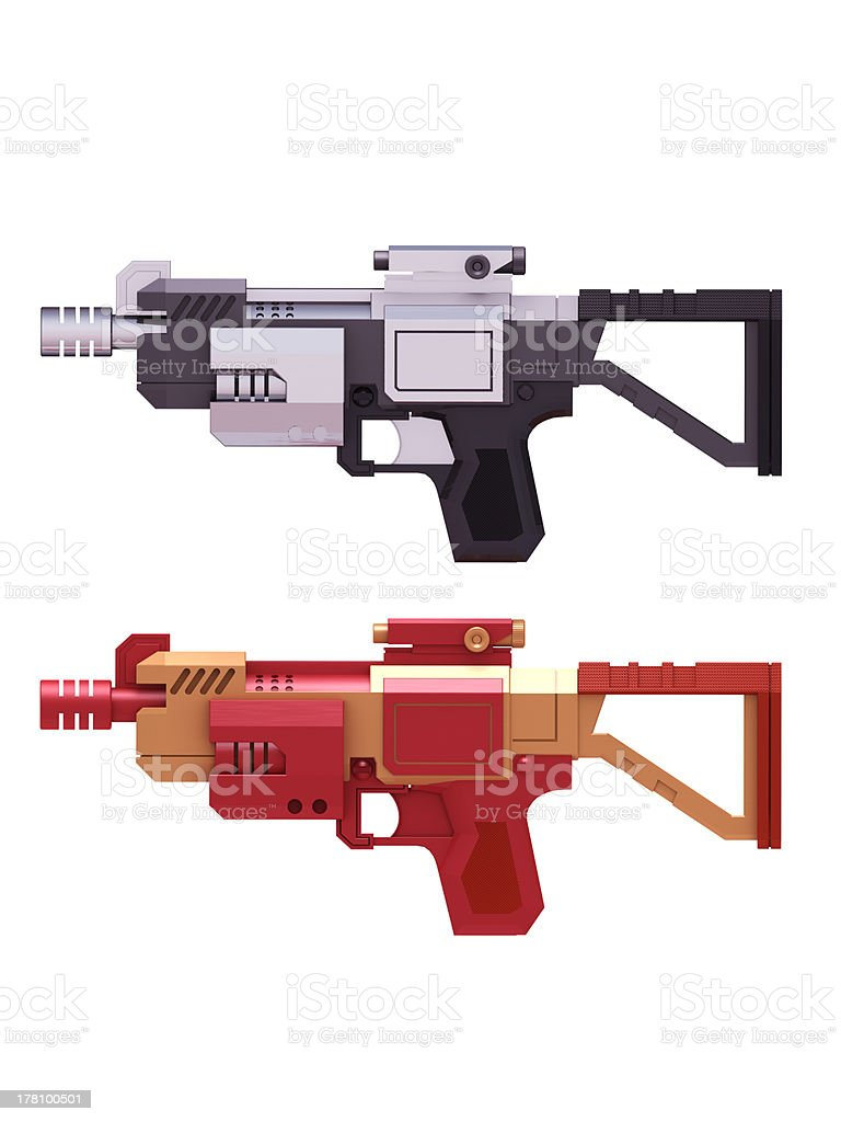 Super weapon royalty-free stock photo