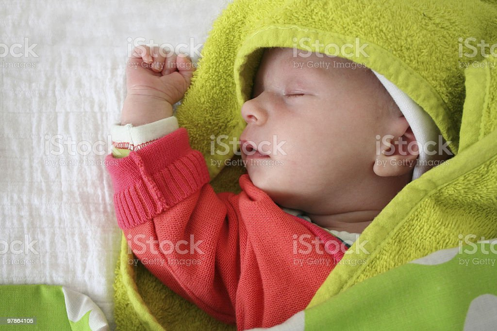 Super-baby royalty-free stock photo