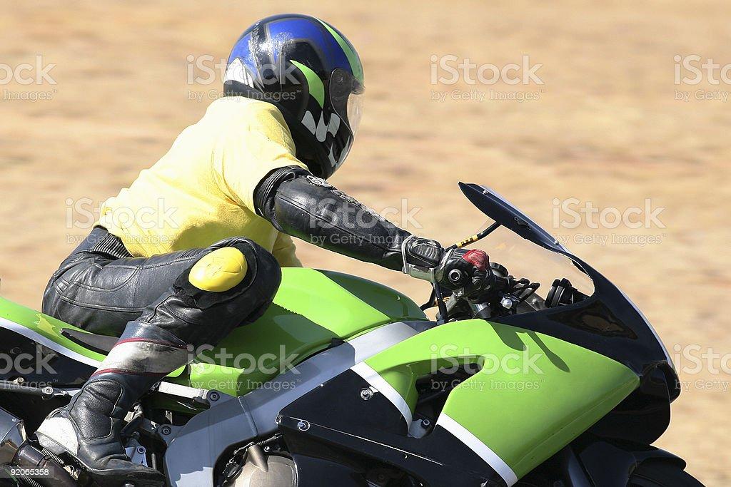 Superbike royalty-free stock photo