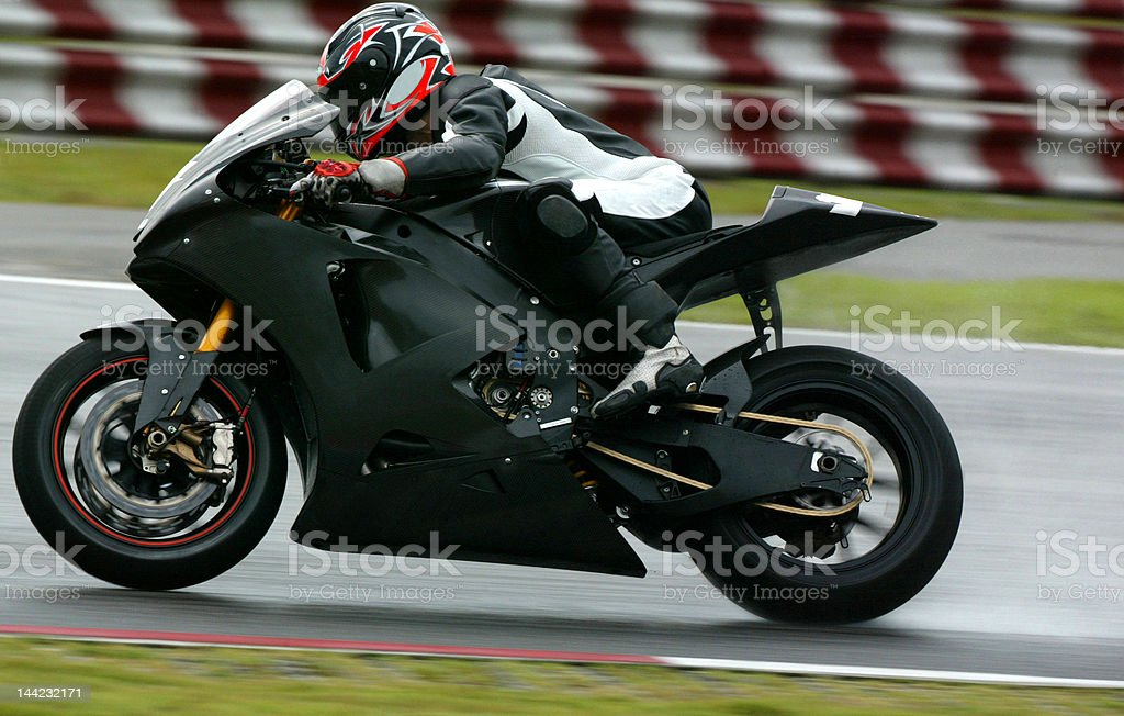 Superbiker stock photo