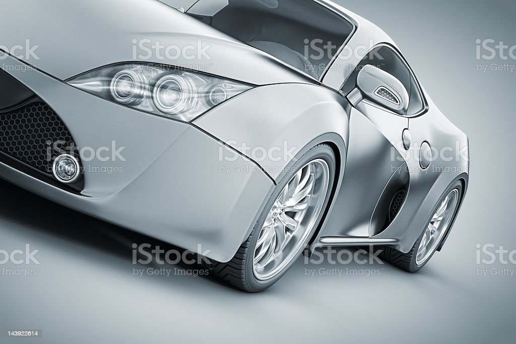 supercar vector art illustration