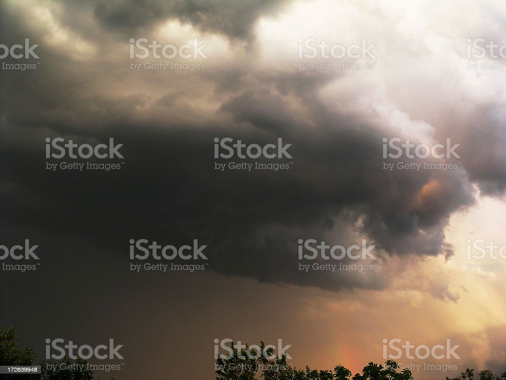 Supercell stock photo