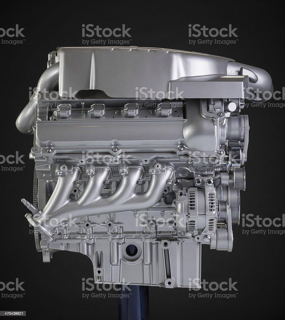 Supercharged V-8 Show engine stock photo
