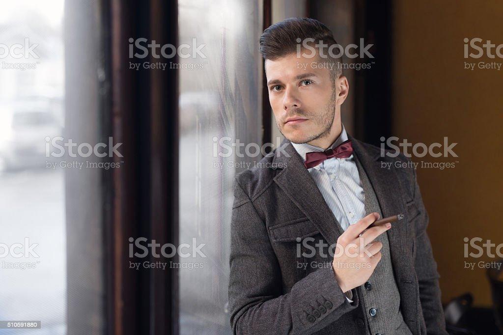 Super-Classy Gentleman stock photo