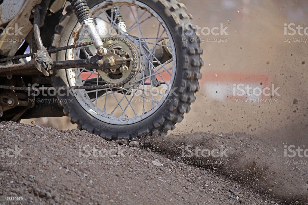 Supercross, Dirt Track Motorcycle Racing, pune, india stock photo