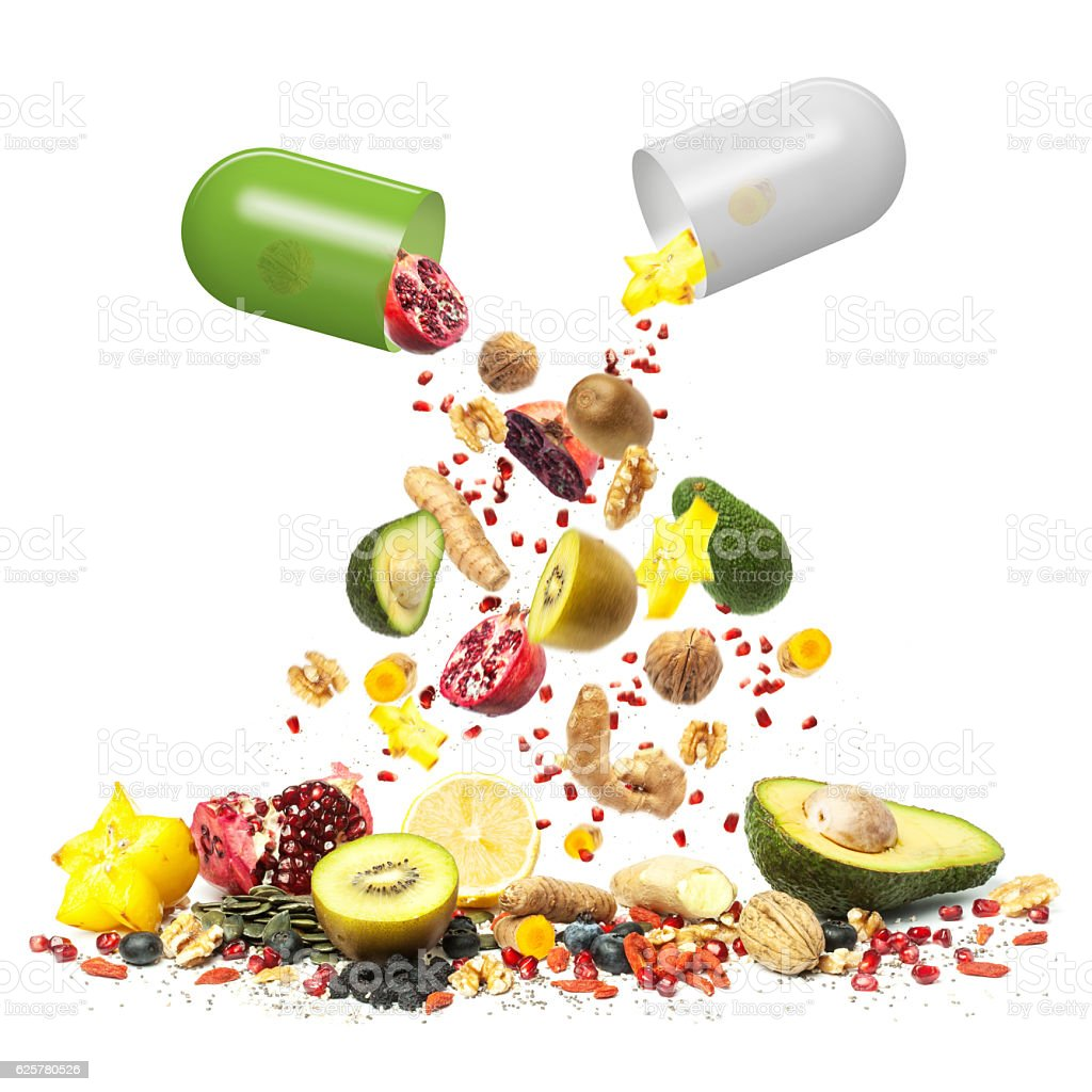 Superfood can be Medicine stock photo