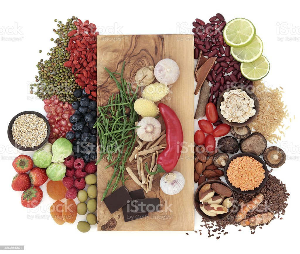Superfood Selection stock photo