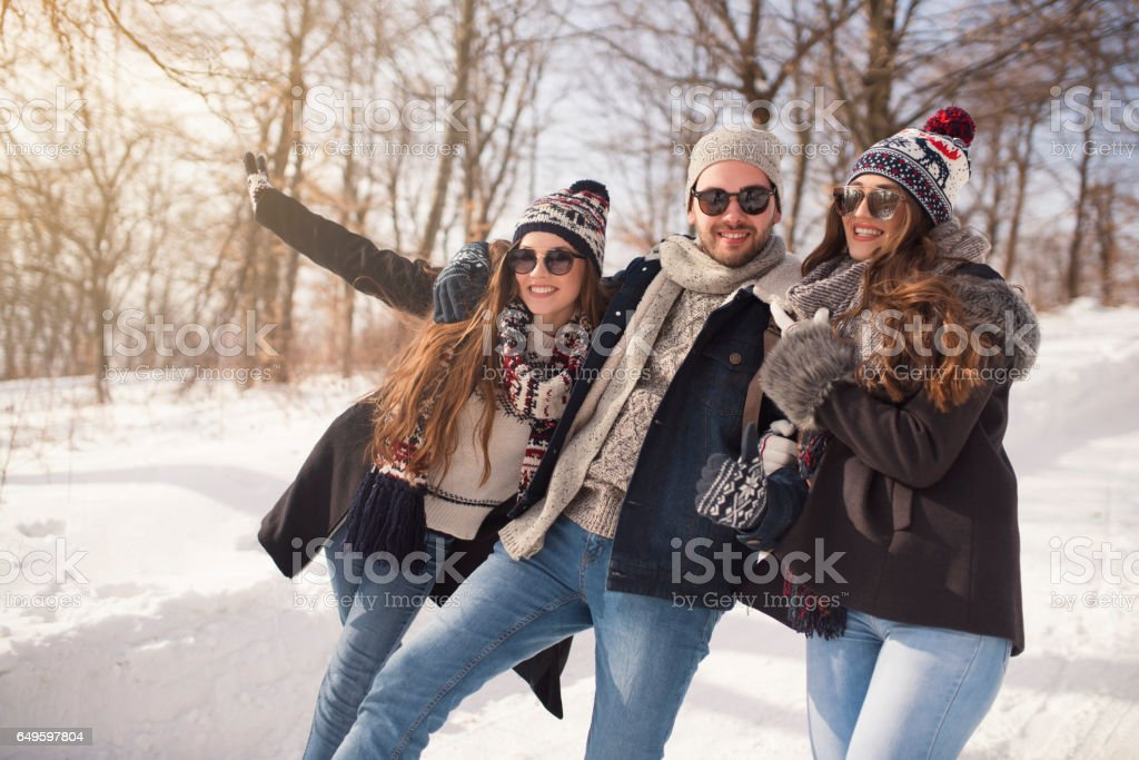 Superfriends stock photo