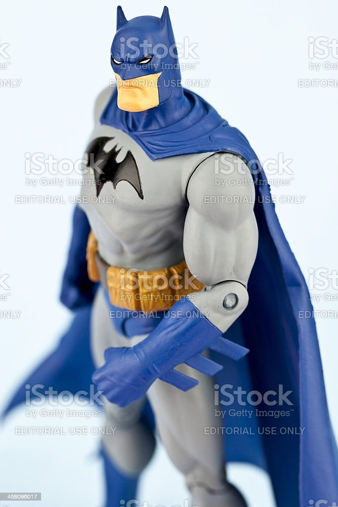 Superhero Batman stock photo