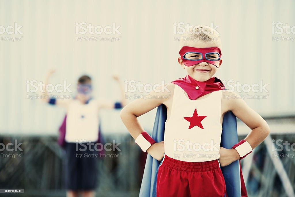 Superhero Portrait stock photo