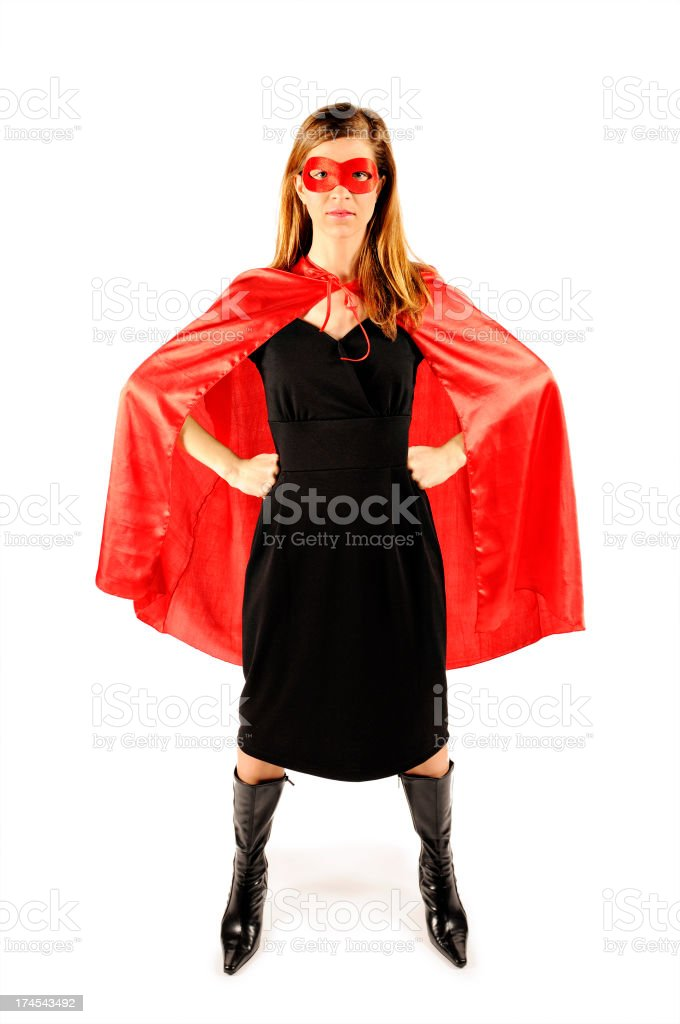 Superhero series royalty-free stock photo