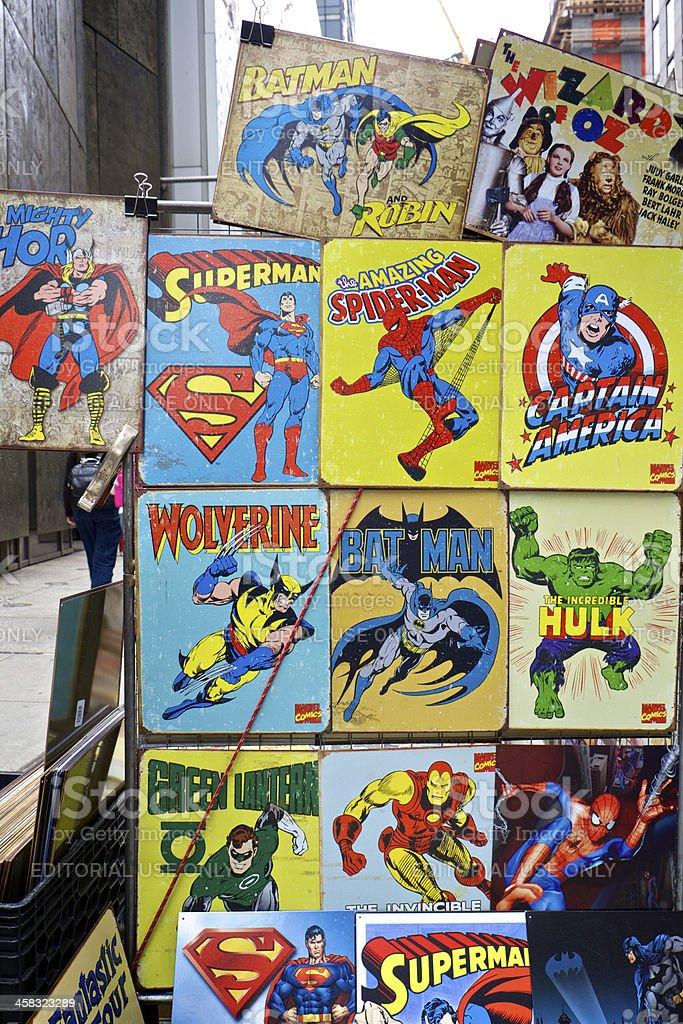 Superheroes stock photo