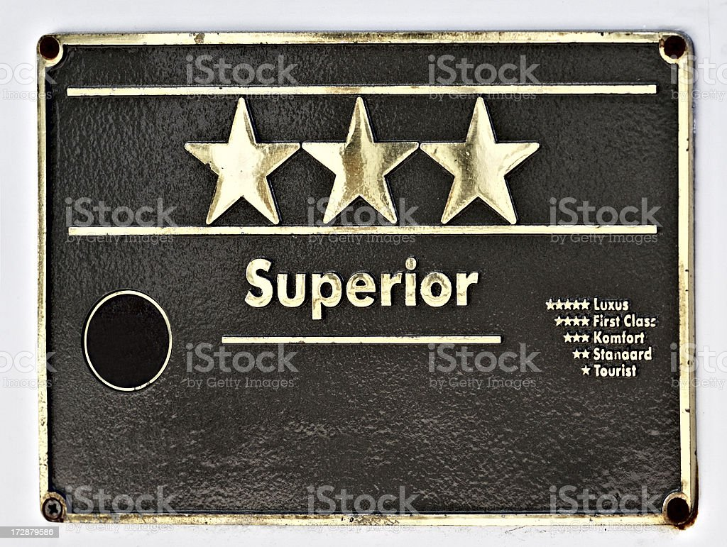 superior stars royalty-free stock photo