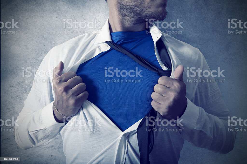 Superman royalty-free stock photo