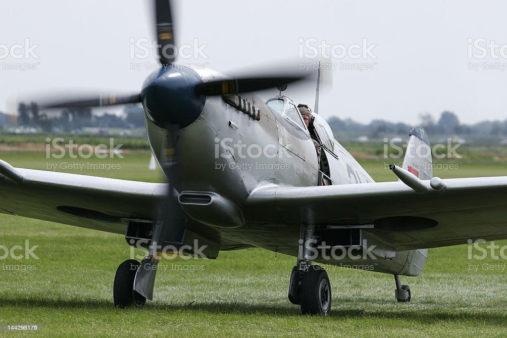 Supermarine Spitfire royalty-free stock photo