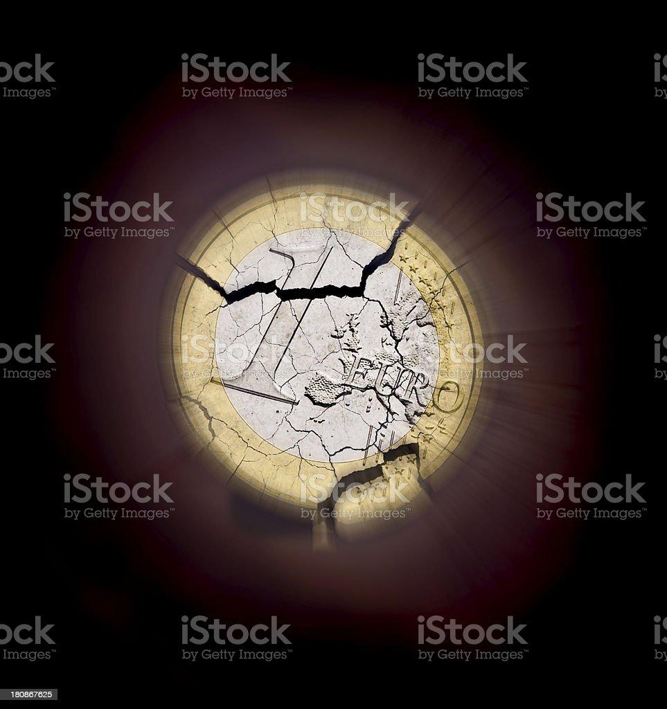 supernova euro royalty-free stock photo