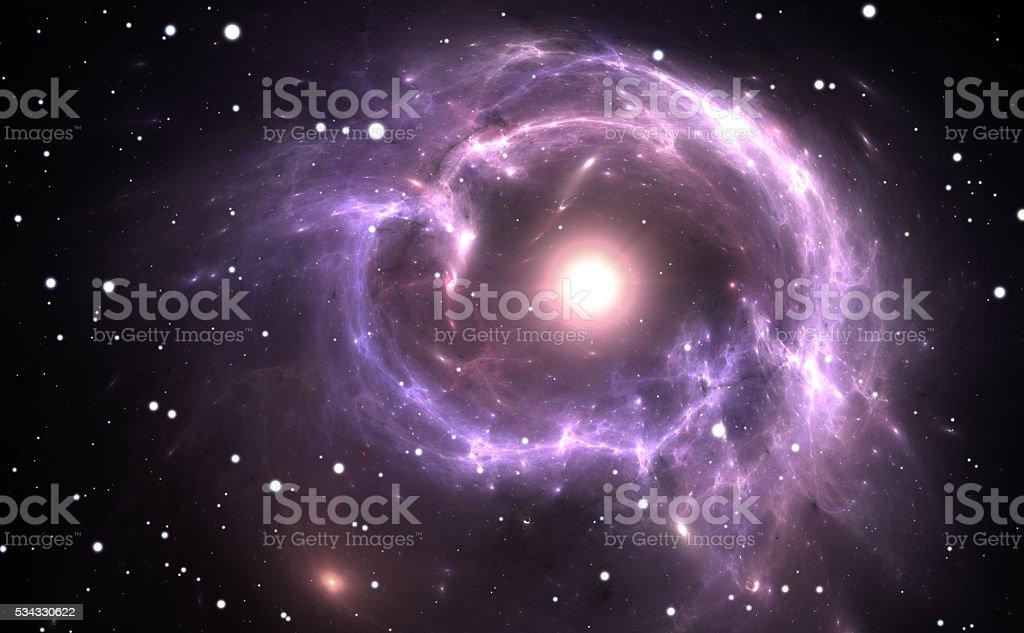 Supernova Explosion stock photo