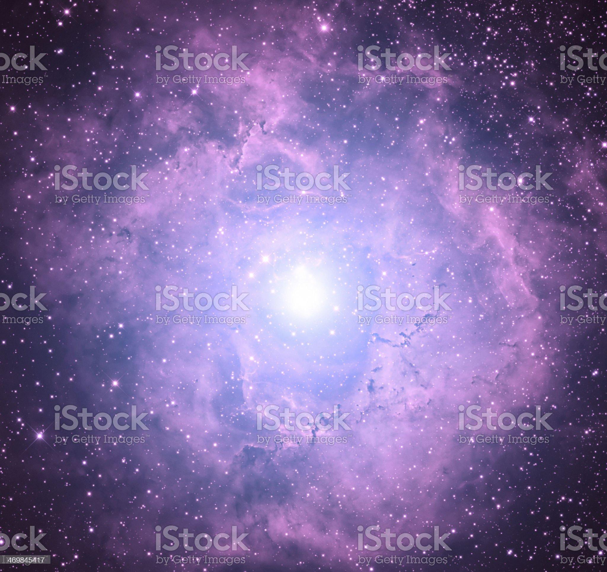 Supernova Nebulosity royalty-free stock photo