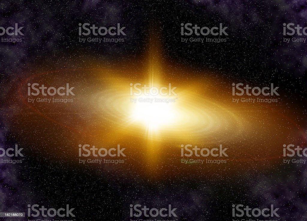 Supernova royalty-free stock photo
