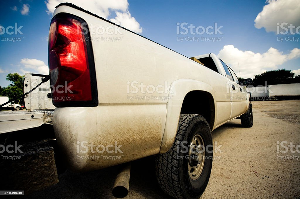 Supersized Pick Up Truck royalty-free stock photo