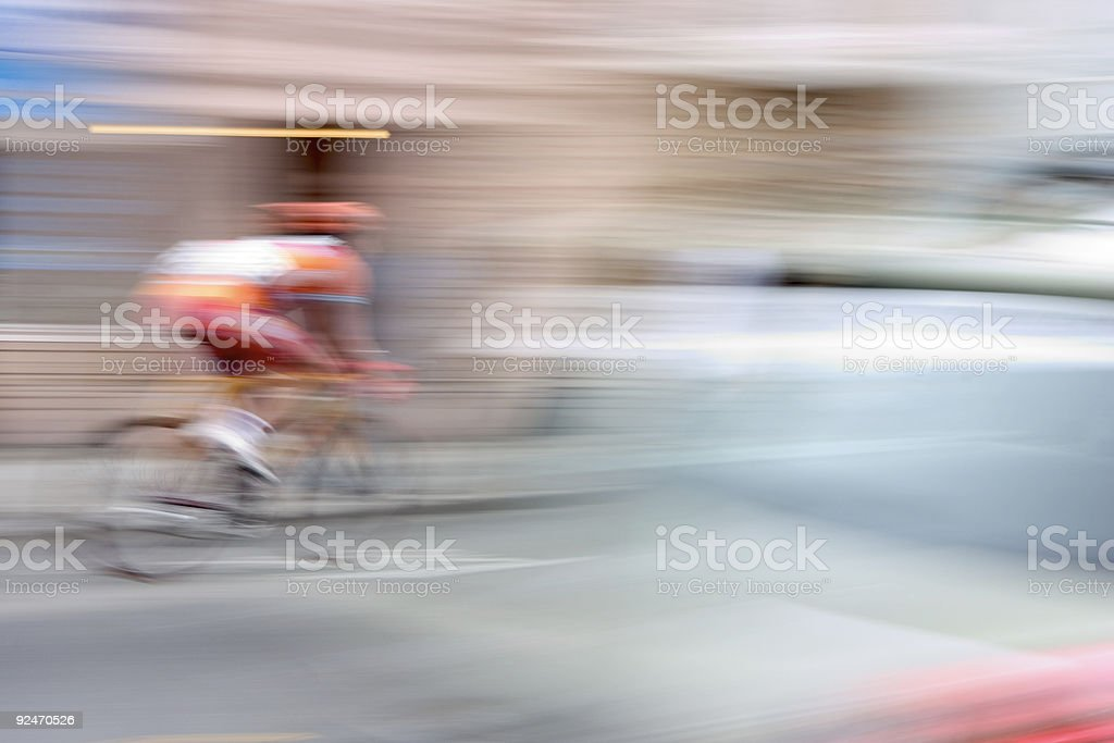 Supersonic Bicycle royalty-free stock photo