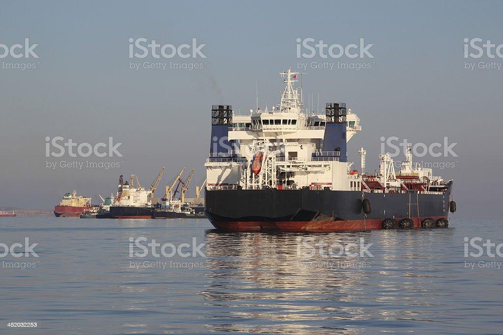 supertanker stock photo