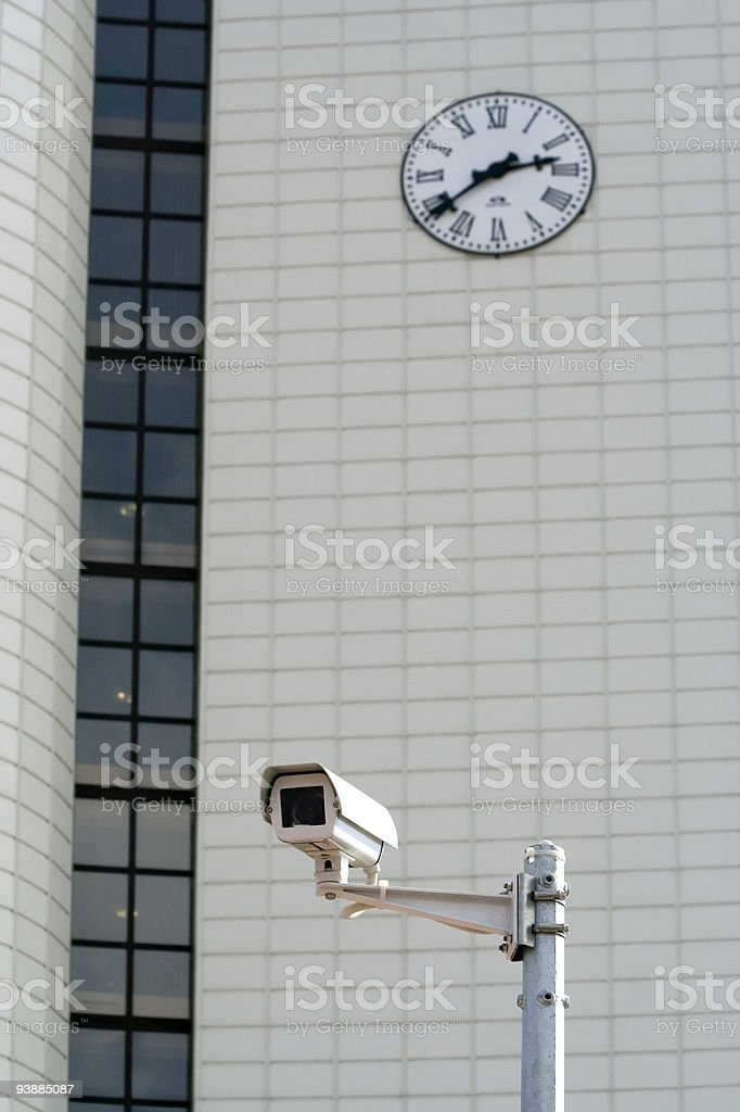 Supervision round the clock . stock photo