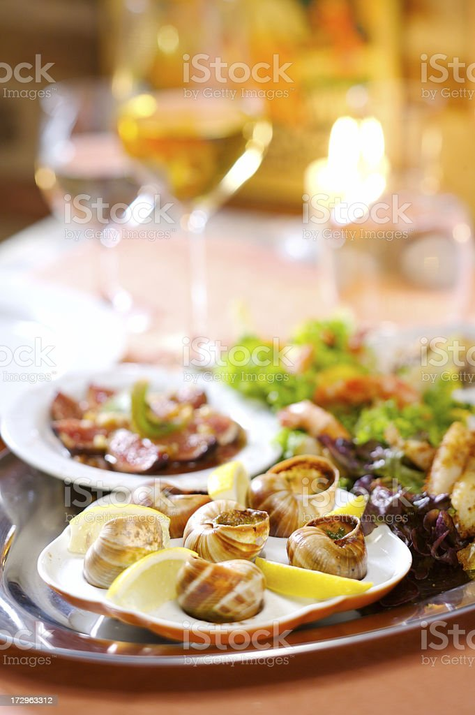 Supper for two royalty-free stock photo