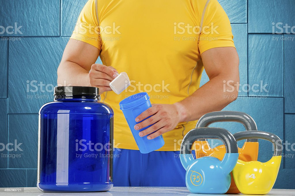 Supplement facts royalty-free stock photo
