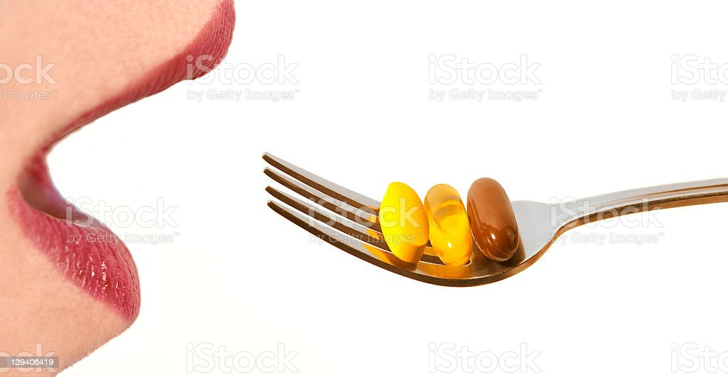 Supplement it royalty-free stock photo