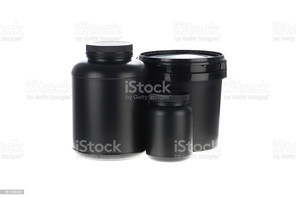 Supplement packs royalty-free stock photo