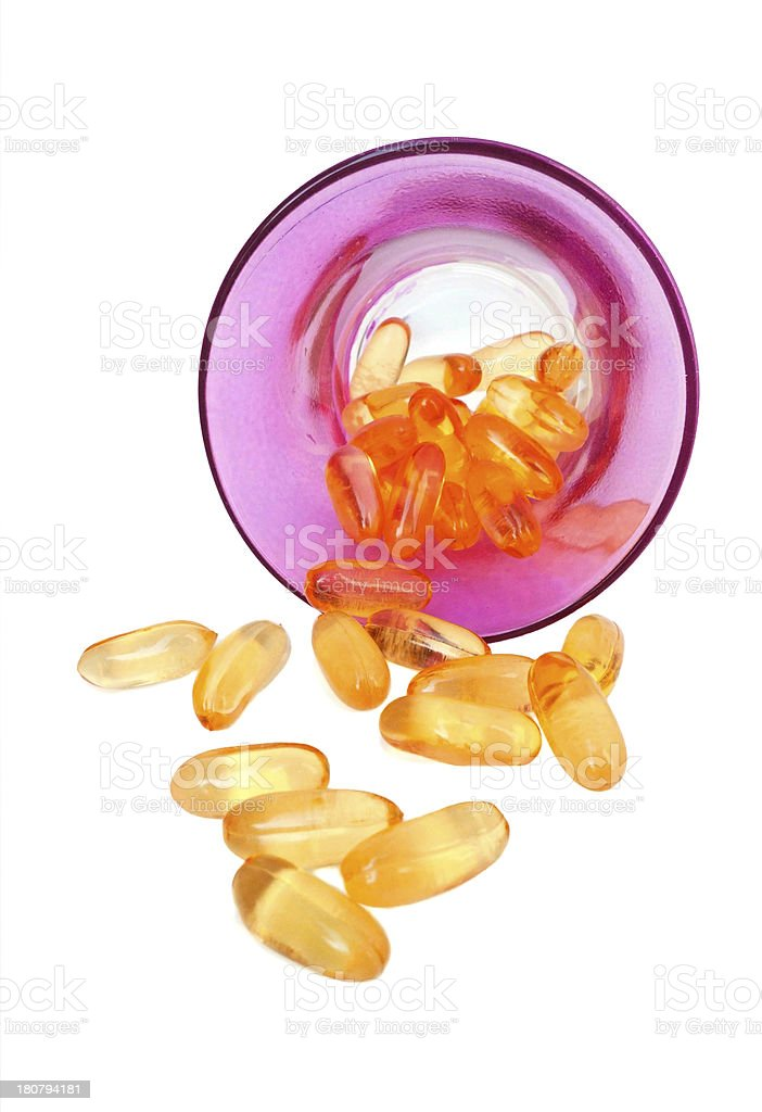 supplement pills royalty-free stock photo